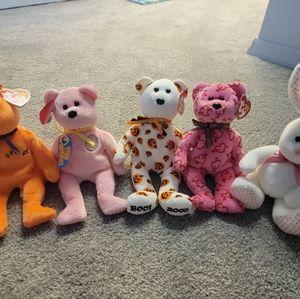 Beanie Babies Bundle - Holiday